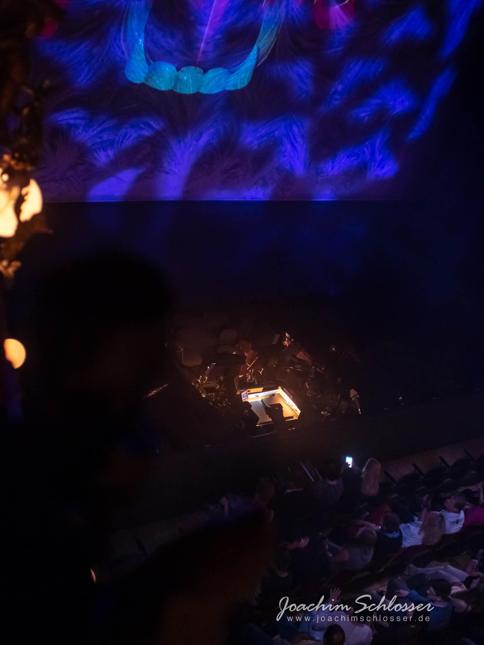 Tanz der Vampire, Wien: Sicht aus dem zweiten Rang